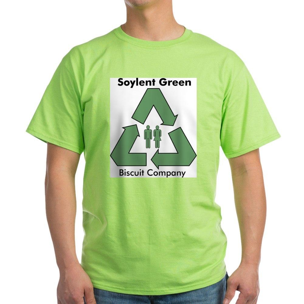 CafePress-Soylent-Green-Ash-Grey-T-Shirt-100-Cotton-T-Shirt-68761843 thumbnail 24