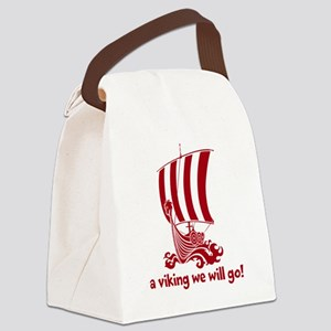 Viking Canvas Lunch Bag