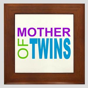 MOTHER OF TWINS Framed Tile