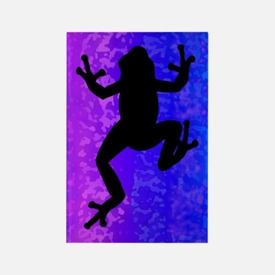 Colorful Frog Magnet - inverted