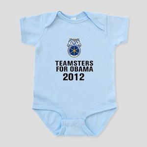 Teamsters For Obama Infant Bodysuit