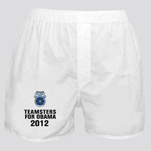 Teamsters For Obama Boxer Shorts