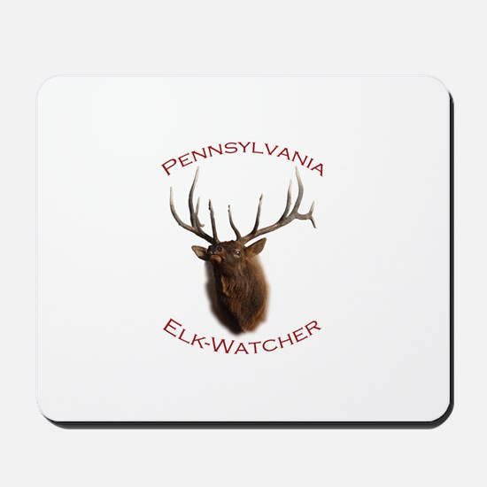Pennsylvania Elk-Watcher Mousepad