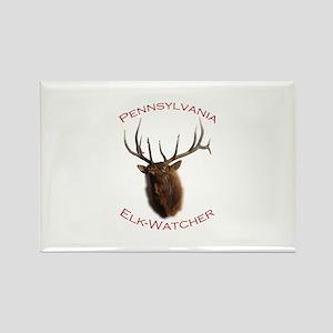 Pennsylvania Elk-Watcher Rectangle Magnet