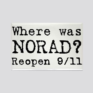 Where was NORAD? Rectangle Magnet