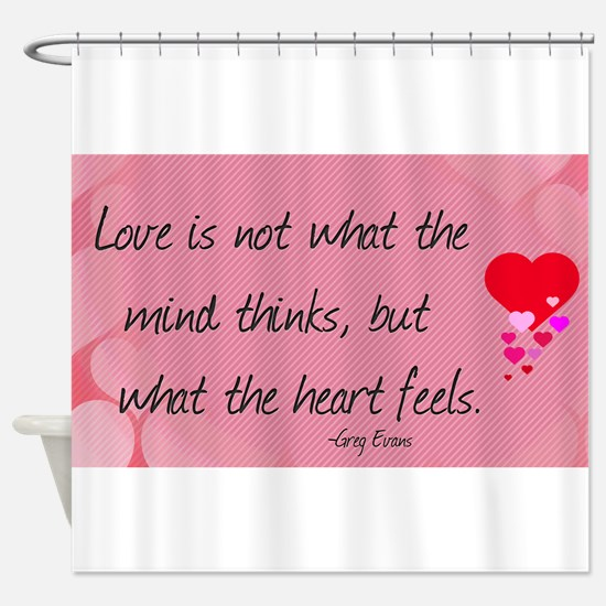 Love Quotes- Love is not what the mind thinks... S