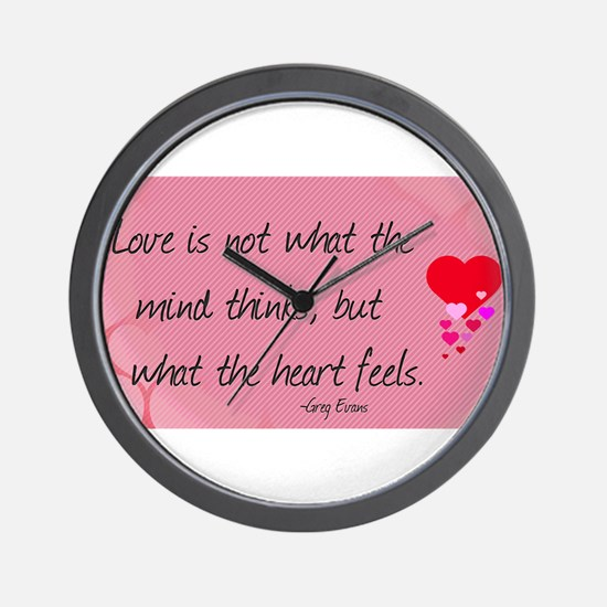 Love Quotes- Love is not what the mind thinks... W