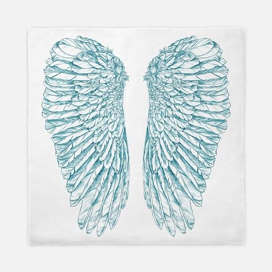 Blue Angel Queen Duvet