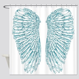 Blue Angel Shower Curtain