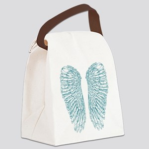Blue Angel Canvas Lunch Bag