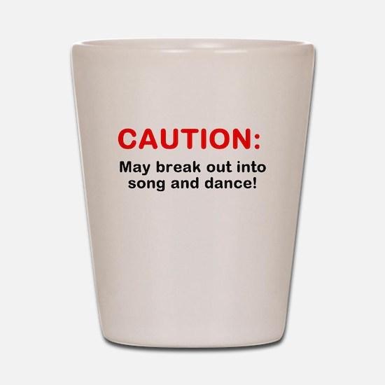 CAUTION: Shot Glass