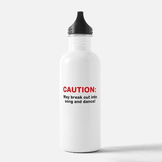 CAUTION: Water Bottle