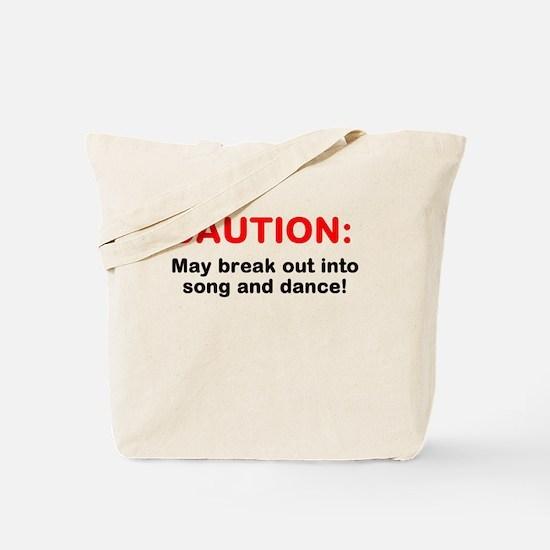 CAUTION: Tote Bag