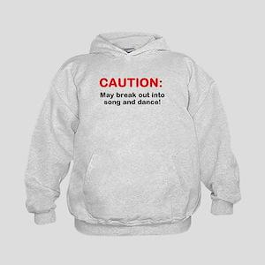CAUTION: Kids Hoodie
