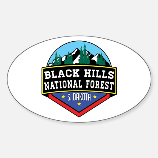 Black Hills National Forest South Dakota Decal