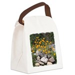 California Poppies Canvas Lunch Bag
