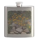 California Poppies Flask