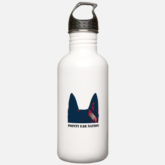 Pointy Ear Nation Water Bottle