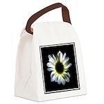 Illuminated Daisy Canvas Lunch Bag