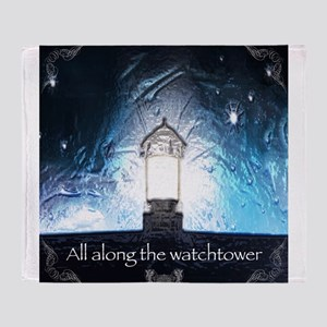 All Along The Watchtower Throw Blanket