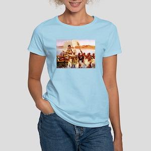 Finding Of Moses Women's Light T-Shirt
