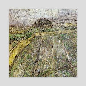 Vincent Van Gogh Rain Queen Duvet