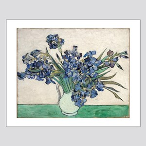 Van Gogh Irises Small Poster