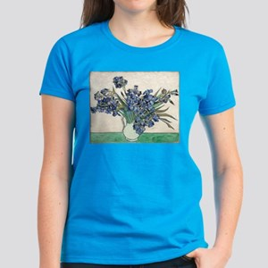 Van Gogh Irises Women's Dark T-Shirt