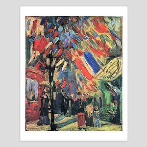 Van Gogh 14 July In Paris Small Poster