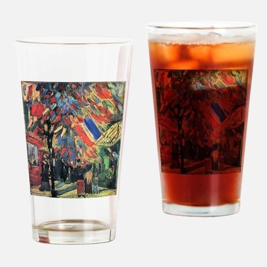 Van Gogh 14 July In Paris Drinking Glass