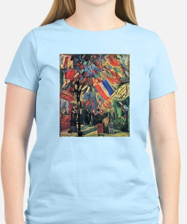 Van Gogh 14 July In Paris Women's Light T-Shirt