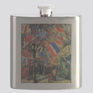 Van Gogh 14 July In Paris Flask