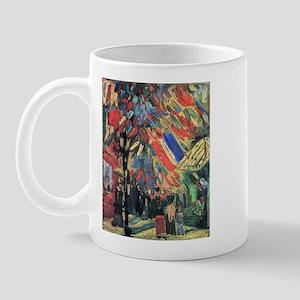 Van Gogh 14 July In Paris Mug