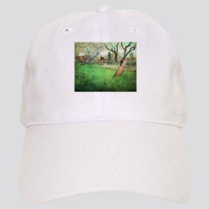Van Gogh View of Arles with flowering tree Cap