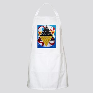 Cabalistic Message in Pascals Triangle Apron