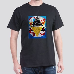 Cabalistic Message in Pascals Triangle Dark T-Shir