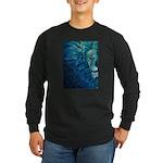 Cosmos Long Sleeve Dark T-Shirt