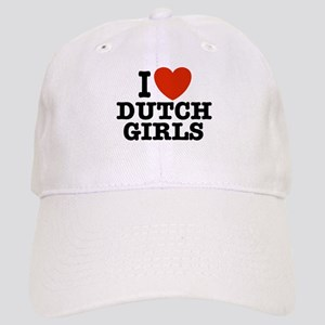 I love Dutch Girls Cap