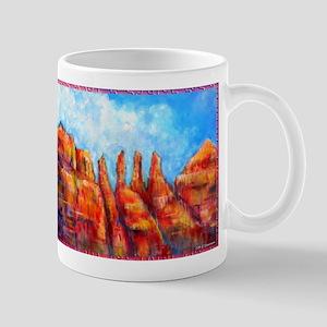 Desert, Southwest , colorful,art! Mug