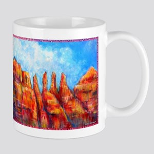 Desert, Southwest , colorful,art! Mug