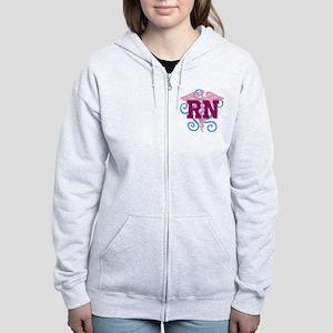 RN swirl Women's Zip Hoodie