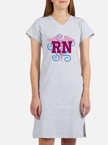 RN swirl Women's Nightshirt