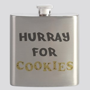 Hurray for Cookies Flask