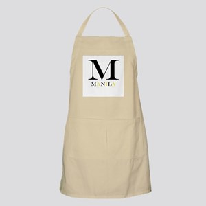M Is For Manila BBQ Apron