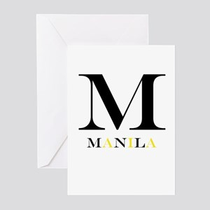 M Is For Manila Greeting Cards (Pk of 10)