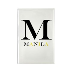 M Is For Manila Rectangle Magnet
