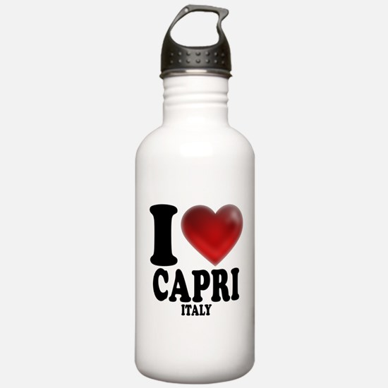 I Heart Capri Water Bottle