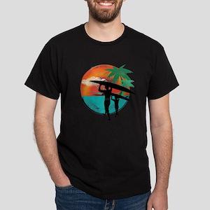 Retro Summer Time Fun Dark T-Shirt