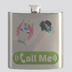 Emoji Unicorn Call Me Flask