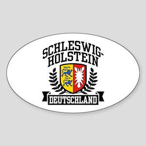 Schleswig Holstein Sticker (Oval)